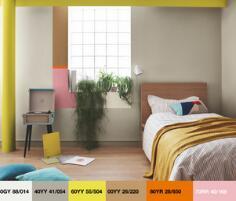 除了收纳和舒适感,你家的儿童房还缺了一点色彩