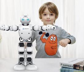 双十一为孩子买点好的,优必选Alpha 1P机器人直降1000元