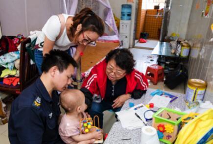 爱博恩儿保中心暑假办系统公益援助,希望孩子体格健壮,积极向上
